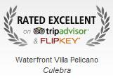 Excellence Badge from TripAdvisor..
