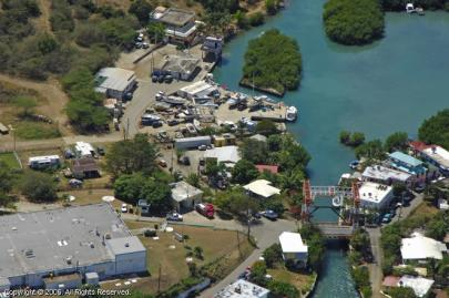Aerial view of our location