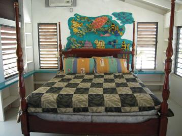 Panoramas' master bedroom