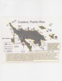 Villa Violette Location on Culebra